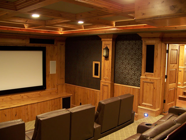 gallery for basement theater