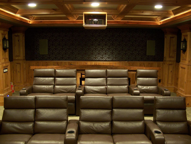 basement theater basement theater room