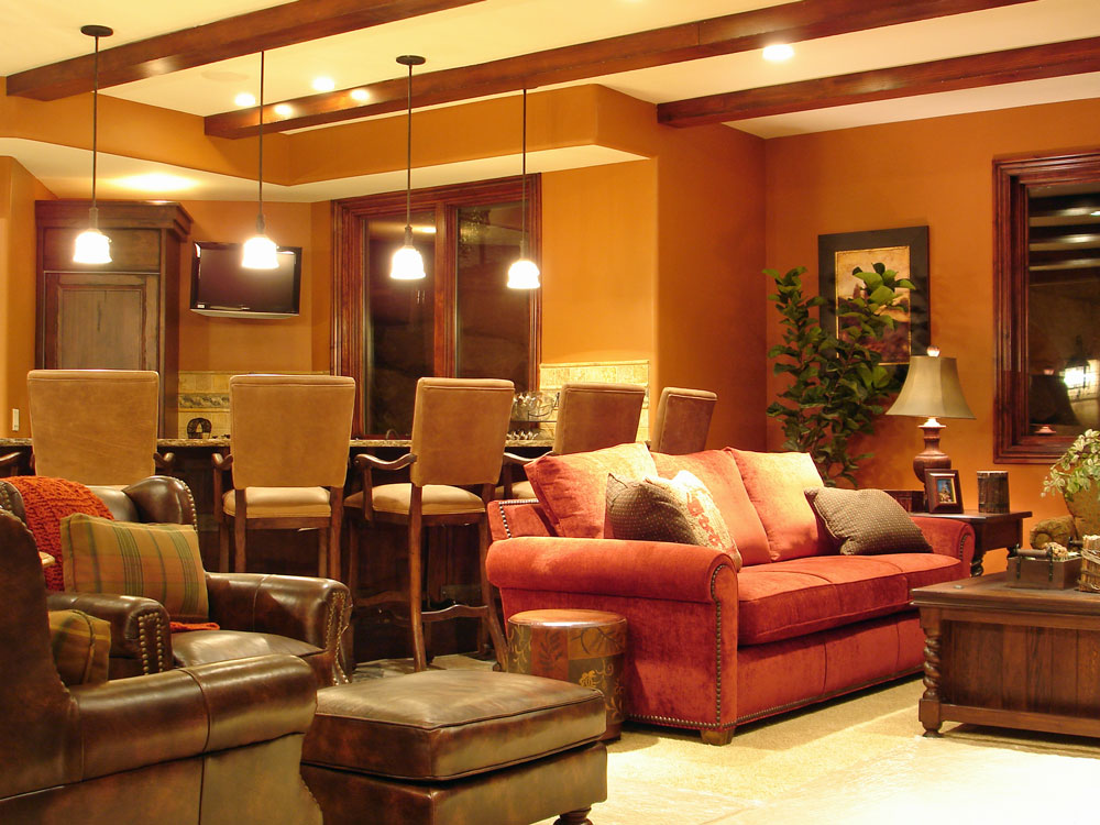 Utah basement finishing and remodeling ideas photos utah for Finished basement designs